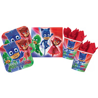 PJ Masks Party Supplies - 16 Guest Person Pack