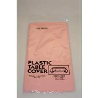 Rose Gold Party Supplies - Rose Gold Plastic Tablecover