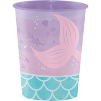Mermaid Shine Party Supplies Favour Cup x1