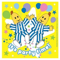 Bananas in Pyjamas Party Supplies Lunch Napkins 16 pack