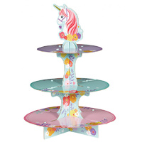 Magical Unicorn Party Supplies Treat Stand