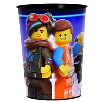 Lego Movie 2 Favour Cup with Emmet & Lucy