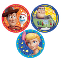 Toy Story 4 Lunch Cake Dessert Plates Round