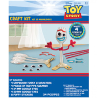 Toy Story 4 Forky Party Supplies Craft Kit 24 Pieces