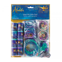 Aladdin Party Supplies Mega Mix Value Pack 48 Pieces