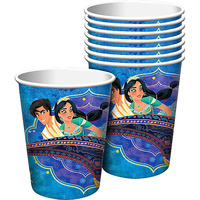 Aladdin Party Supplies Paper Cups 8 Pack