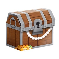 Pirate Treasure Favour Loot Treat Boxes 8 Pack