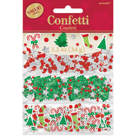 Christmas Designs Confetti Foil & Paper Table Decoration Value Pack