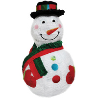 Christmas Snowman with Hat Pinata