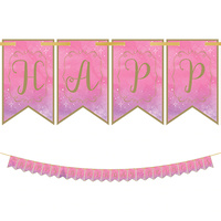 Disney Princess Once Upon A Time Pennant Banner