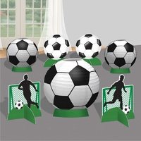 Goal Getter Soccer Table Centrepiece Decorating Kit