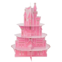 Disney Princess Once Upon A Time Castle 3 Tier Treat Stand