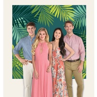 Palm Leaves Photo Backdrop Scene Setter