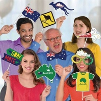 Australia Day Photo Props Kit