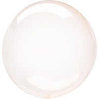 Crystal Clearz Orange Balloon