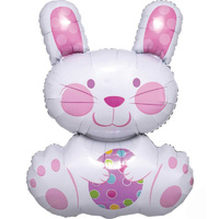 SuperShape XL Easter Enchantment Bunny Foil Balloon