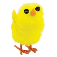 Easter Chenille Chicks Small 2cm x12 Pack