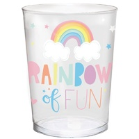 Magical Rainbow Birthday Favour Cup Plastic 473ml x1