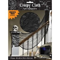 Halloween Creepy Cloth Black Decoration