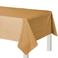 Gold Sparkle Party Supplies Plastic Rectangular Tablecover