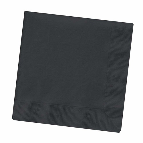 Black Velvet Party Supplies - Lunch Napkins 50 pack