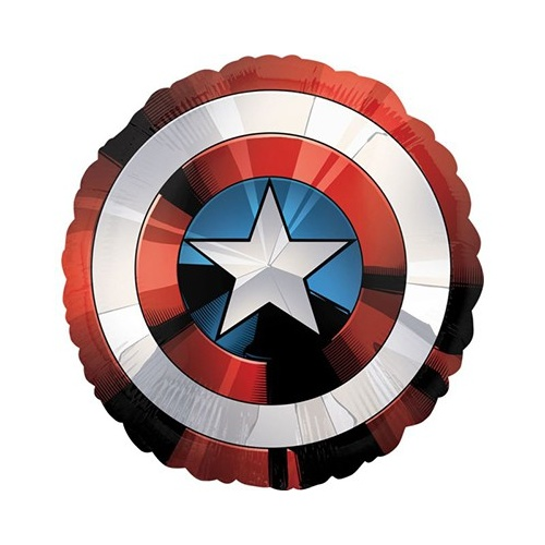 Avengers Party Supplies - Captain America Shield Supershape Balloon